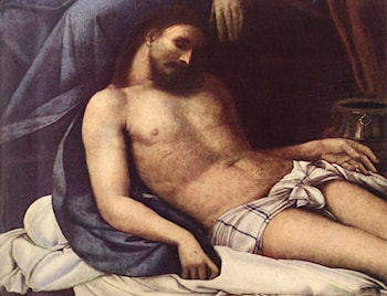 Deposition [detail: 1] by Sebastiano del Piombo
